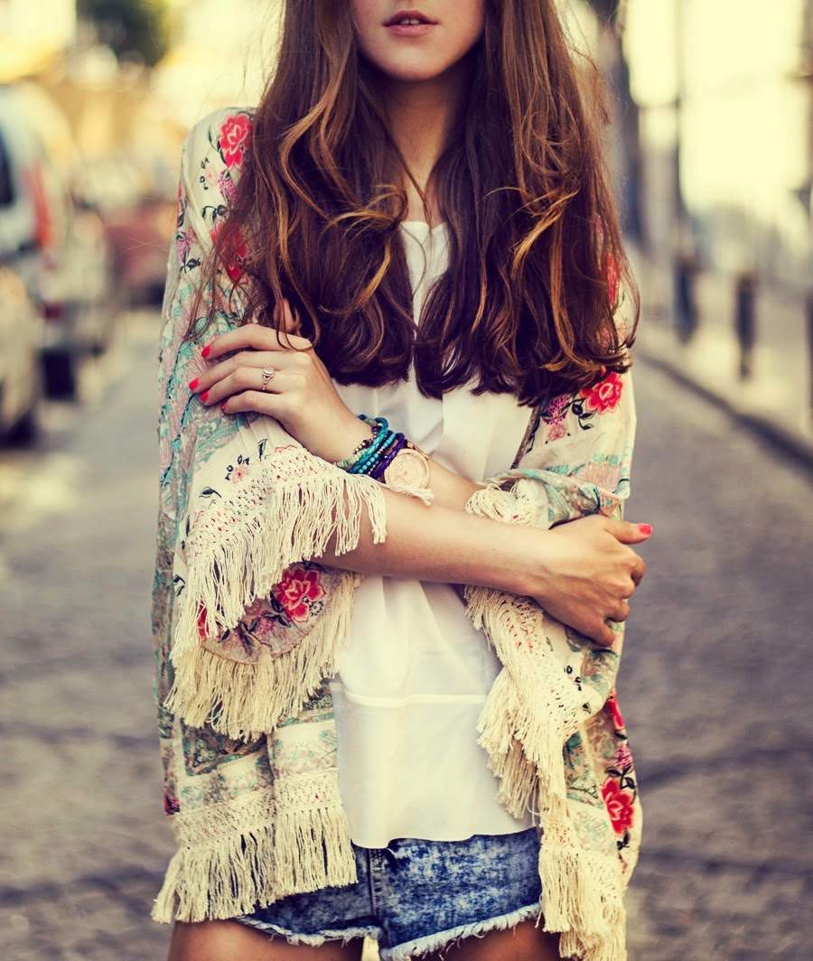 How to Chic: HOW TO WEAR A KIMONO