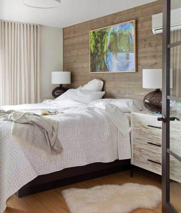puedes emplear desde tablones de madera cortados a medida y situados de manera horizontal a frisos situados