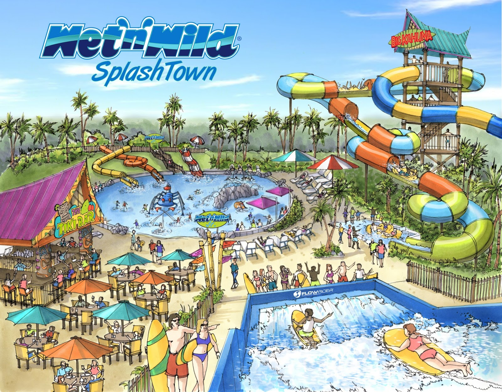 Newsplusnotes Another New Wet N Wild Water Park Opening In 2014
