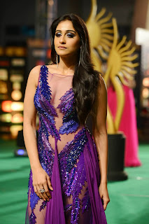 Regina Casandra Sizzling at IIFA Utsavam 2016 Awards in a Transparent Gown