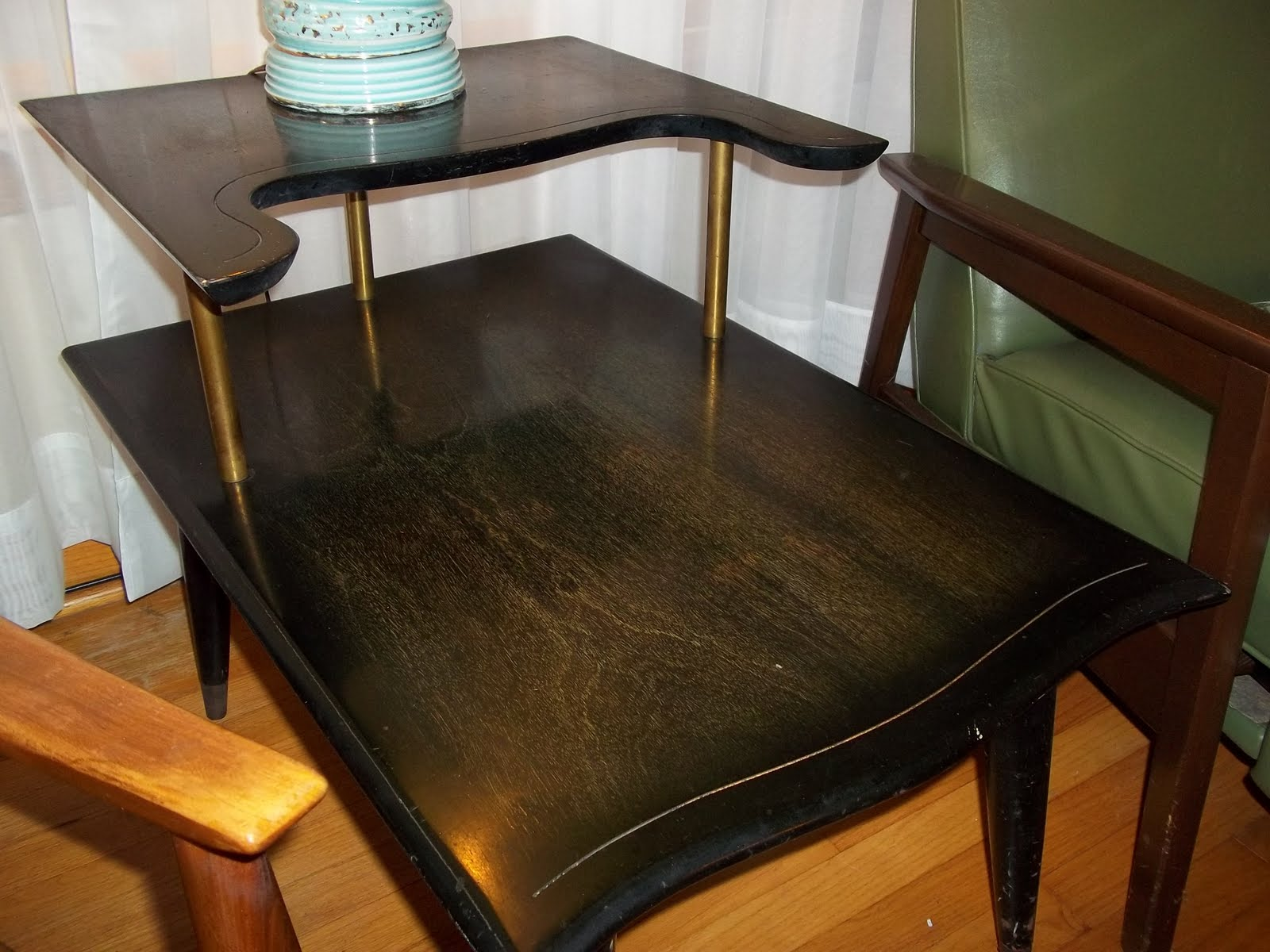 Awesome mid century matching coffee and end table 100 sold gatyo retro Matching coffee table and end tables