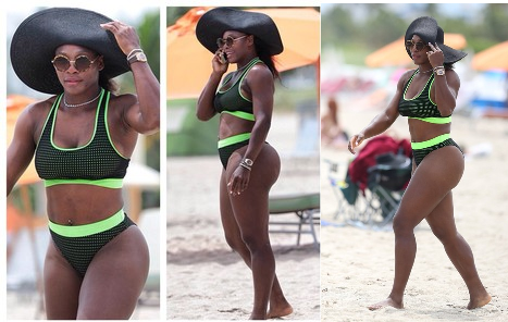 Ass-Champ Serena Williams in Bikini