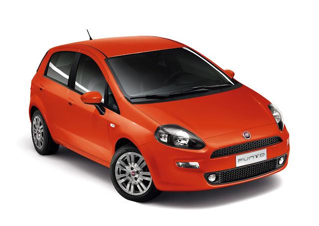 Fiat Punto 2013 color Arancio Sicilia