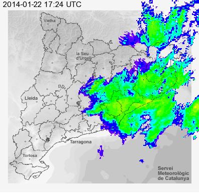 El temps a palam 243 s 22 i 23 de gener de la pluja al sol