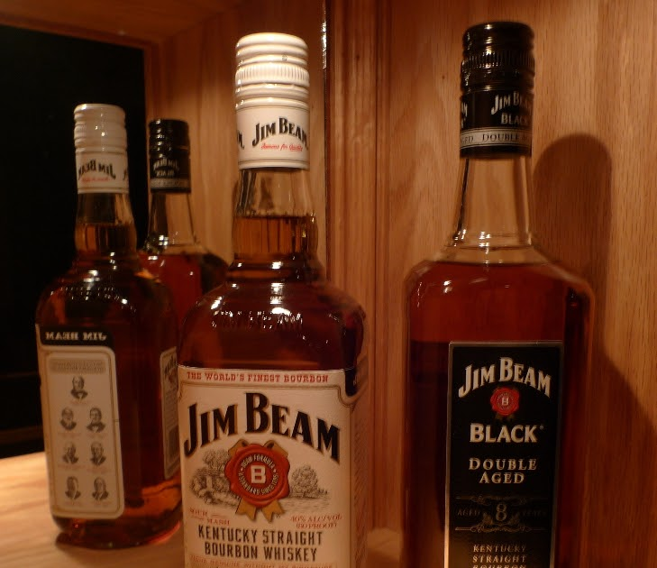 the whisk e y room jim beam white label vs black label. Black Bedroom Furniture Sets. Home Design Ideas