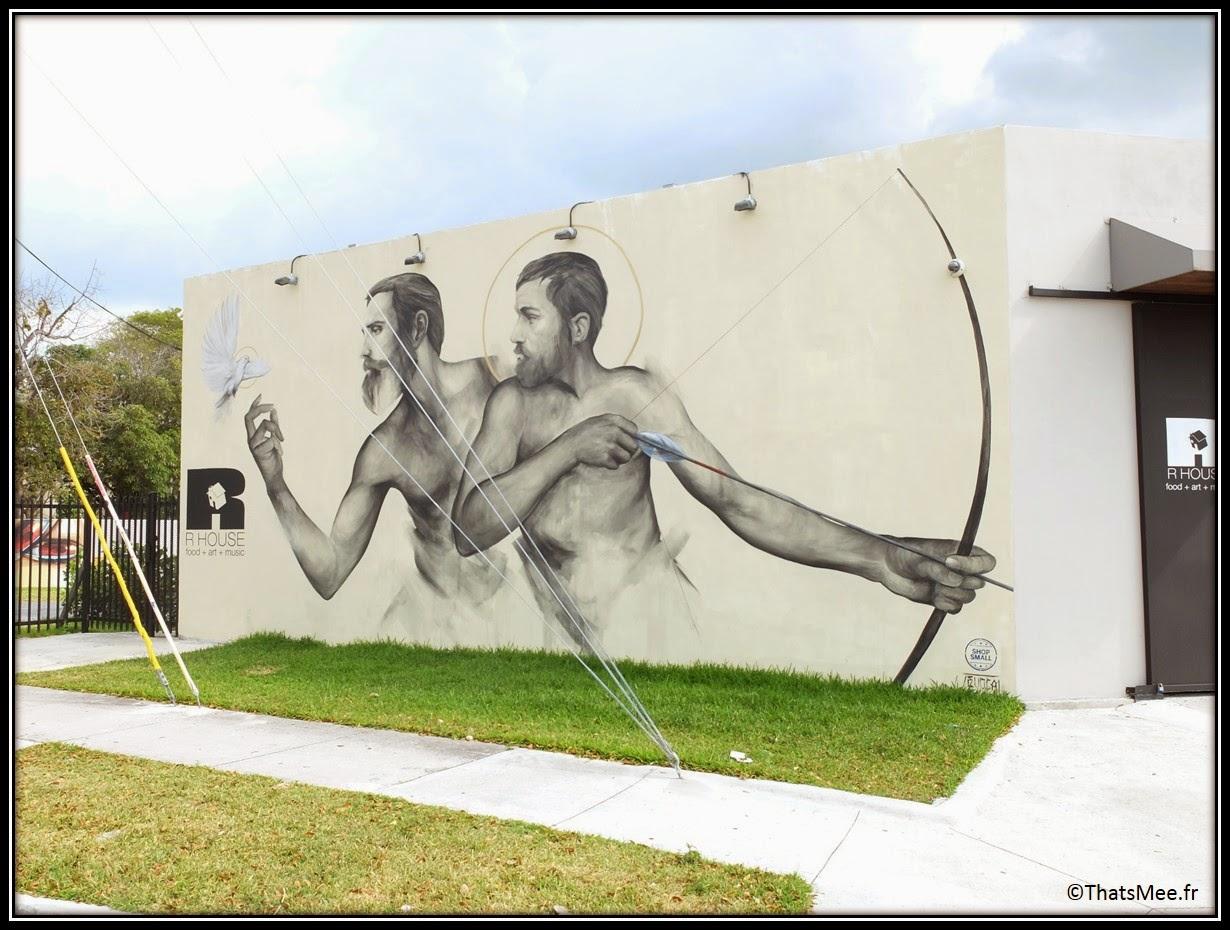galerie R-House Wynwood Miami anges arcs gays, wynwood art district centre Miami Art Basel 2013