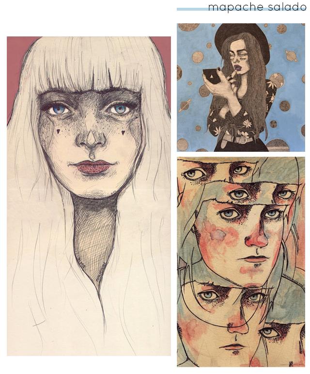 illustrations by mapache salado