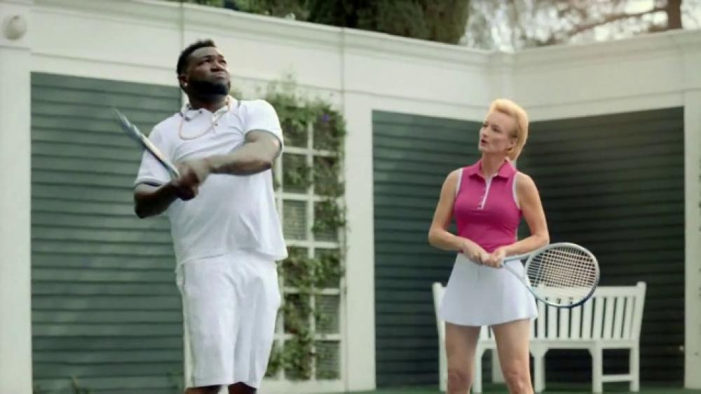 David Ortiz Takes Up Tennis In New Turbotax 2017 Tv Commercial New