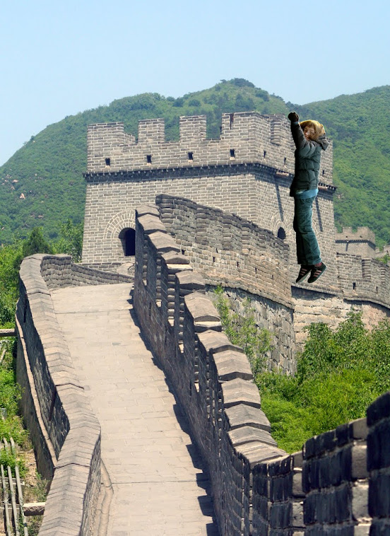 49. Climbing the Great Wall of China, Otto style