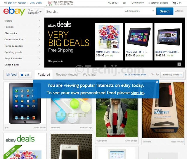 ebay new look
