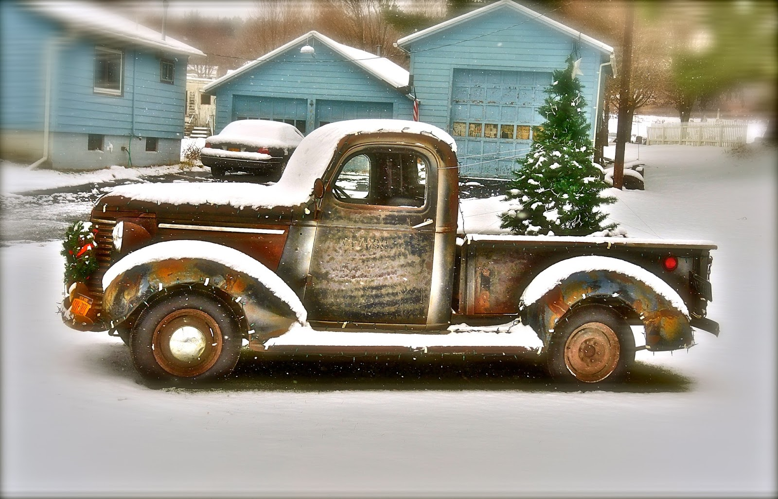 This 39 Chevy And I Wish You A Merry Christmas Happy Hanukkah Tom