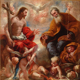 SANTÍSIMA TRINIDAD. Solemnidad Domingo después de Pentecostés