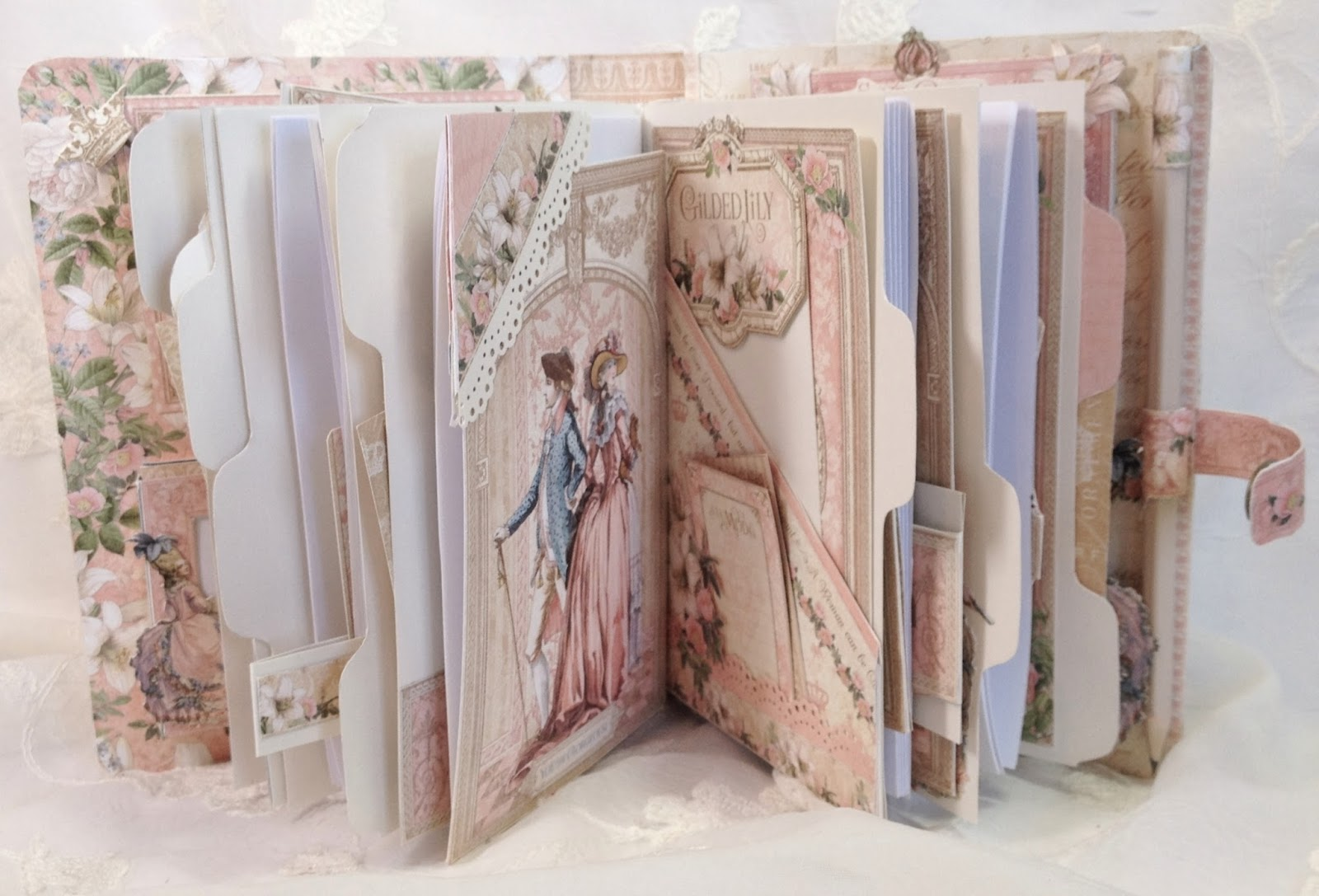How to make scrapbook journal - Had So So Fun Making This Journal Mini Album With This Gorgeous Paper Line
