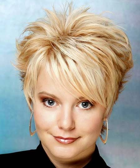Short Spiky Hairstyles For Women In 2015