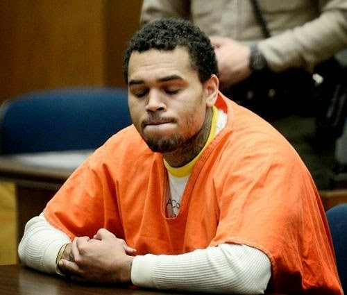 Chris Brown Gets 131 days in Jail for Violating Probation