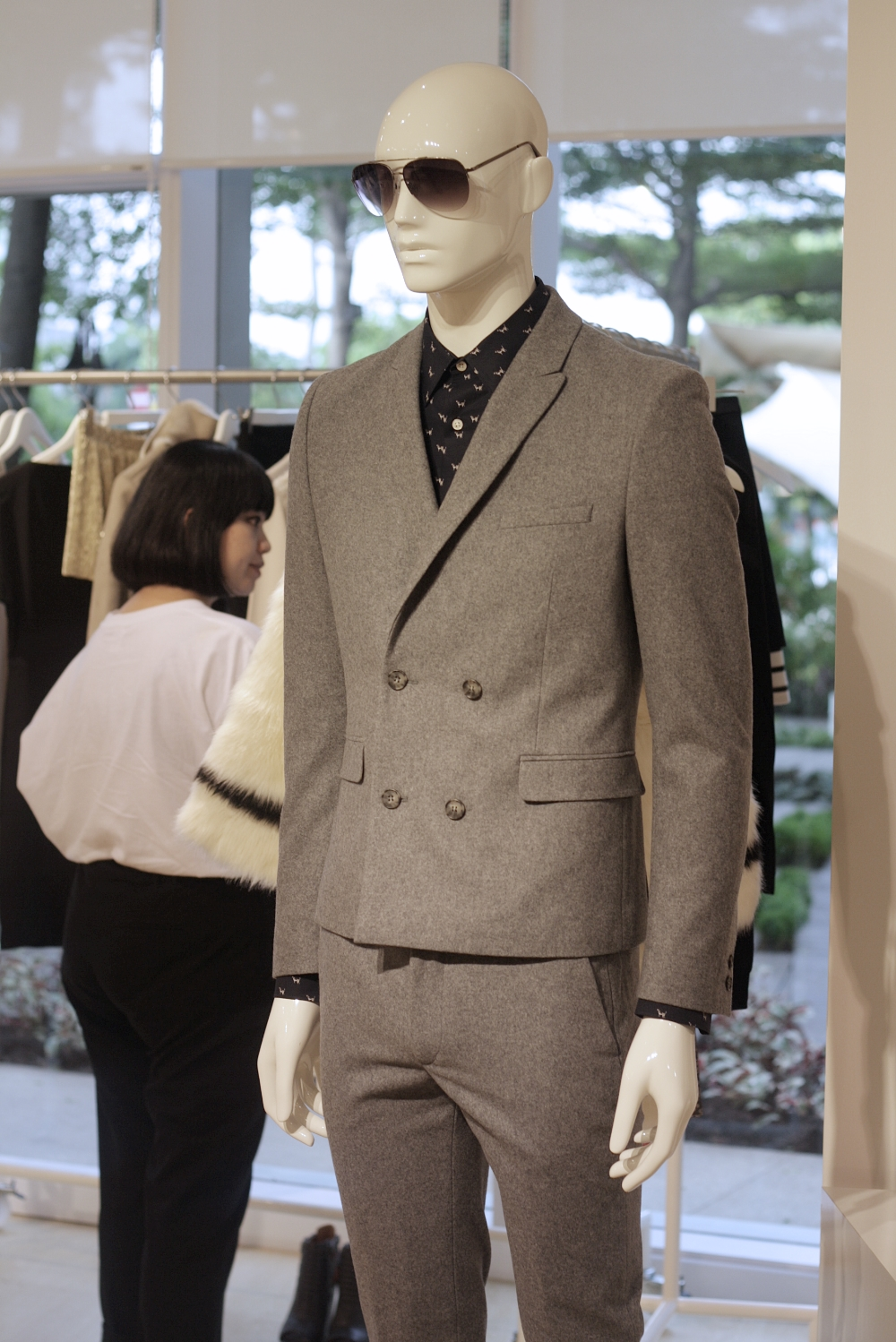 H&M INDONESIA FALL WINTER 2013, SUIT, MENSWEAR