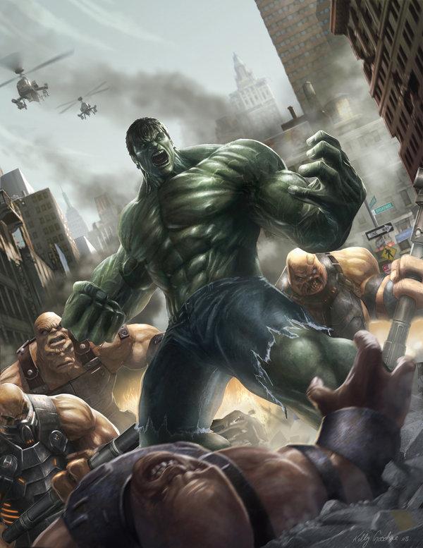 Hulk cover por KEGO44