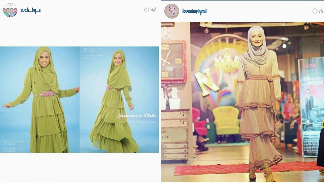 Trend Fashion Hijab Untuk Lebaran 2014