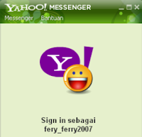cara membuat widget chat yahoo messenger (YM)