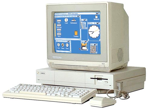 The Commodore Amiga in 1985