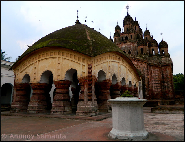 Terracotta temples of Kalna - Lalji Temple