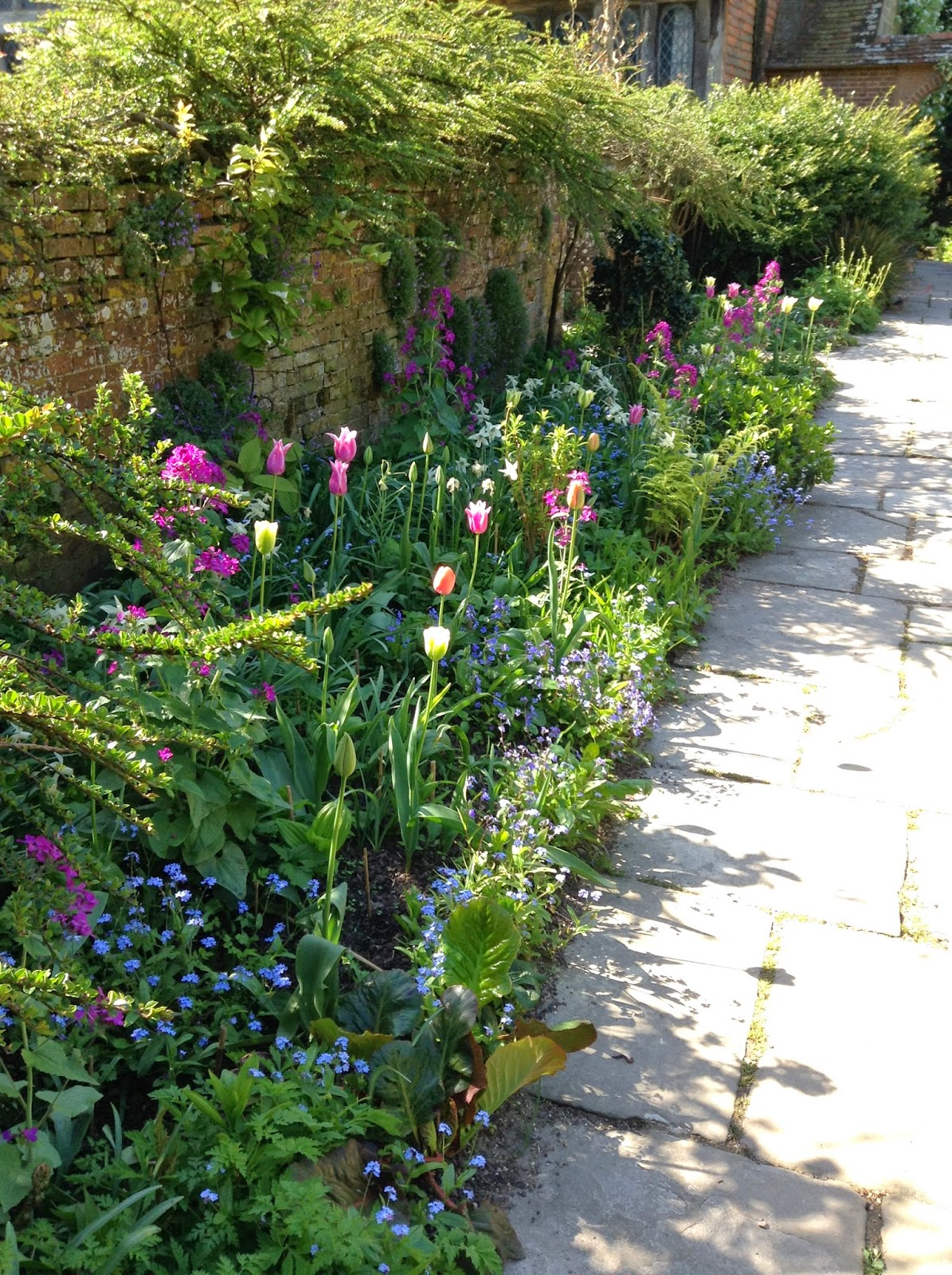 Wall Garden at Great Dixter - Photo by Noemi Mercurelli