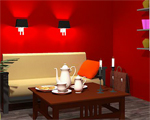 Red Sitting Room Escape Solucion