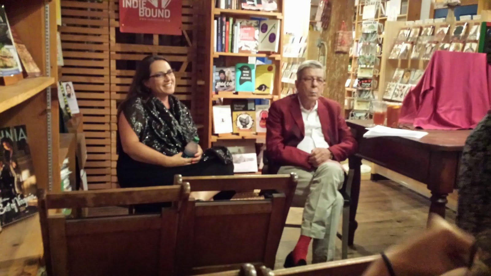 Amazingly, Robert Goolrick, Bestselling Author Of A Reliable Wife And  Heading Out To Wonderful, Joined Me For The Evening, And Read From His  Brand New Novel