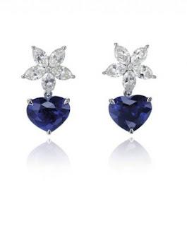 الأزرق الجذاب جديد المجوهرات الراقية