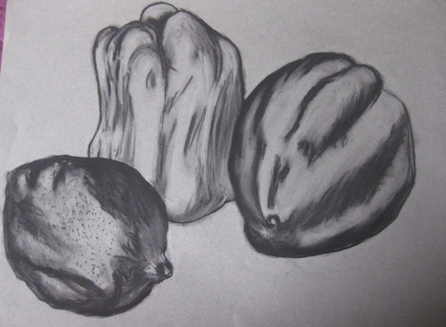 Drawings amp Ideas Fruits Veg Charcoal