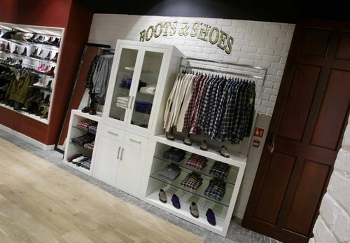 Dr Martens Store, Westfield, London Interior Design