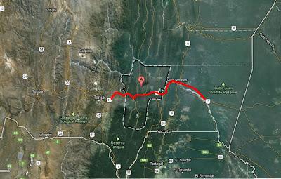 Vía Tarija - Entre Ríos, chaco