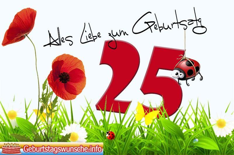 Alles Gute Zum Geburtstag Tochter 25 Jahre Hylen Maddawards Com