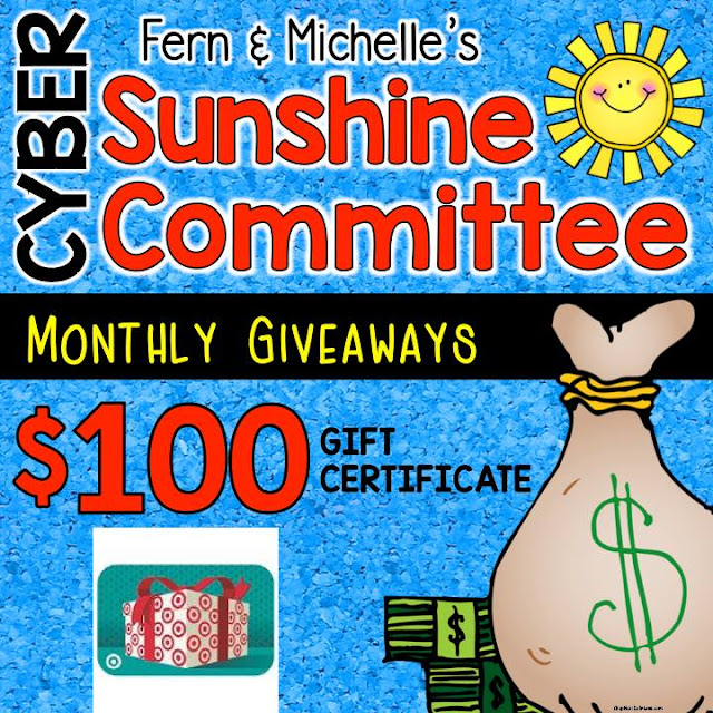 """Fern Smith's Classroom Ideas and Teach123's $100 Target Gift Card Giveaway and a Winter """"The Mitten"""" Freebies!"""
