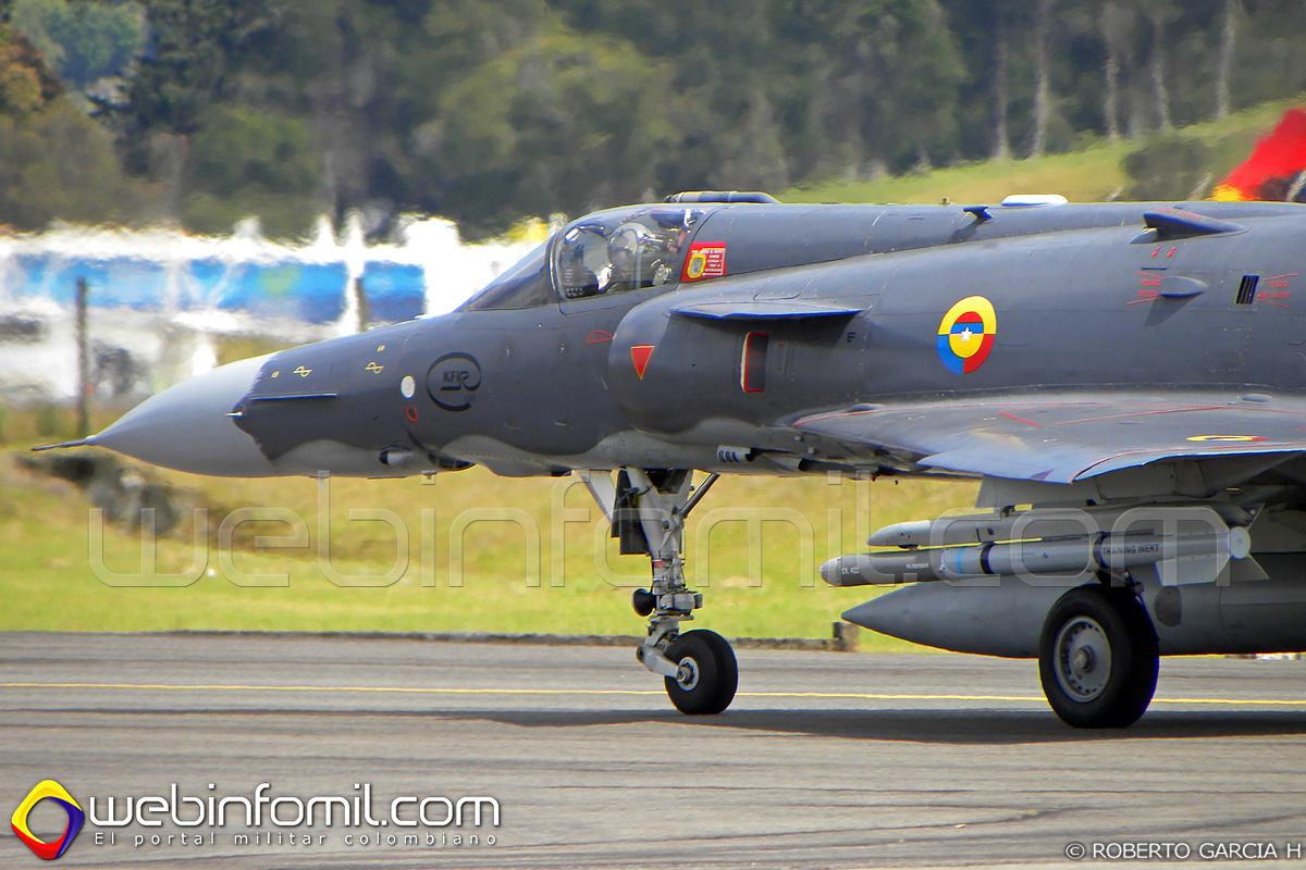 Kfir C-10 Fuerza Aerea Colombiana