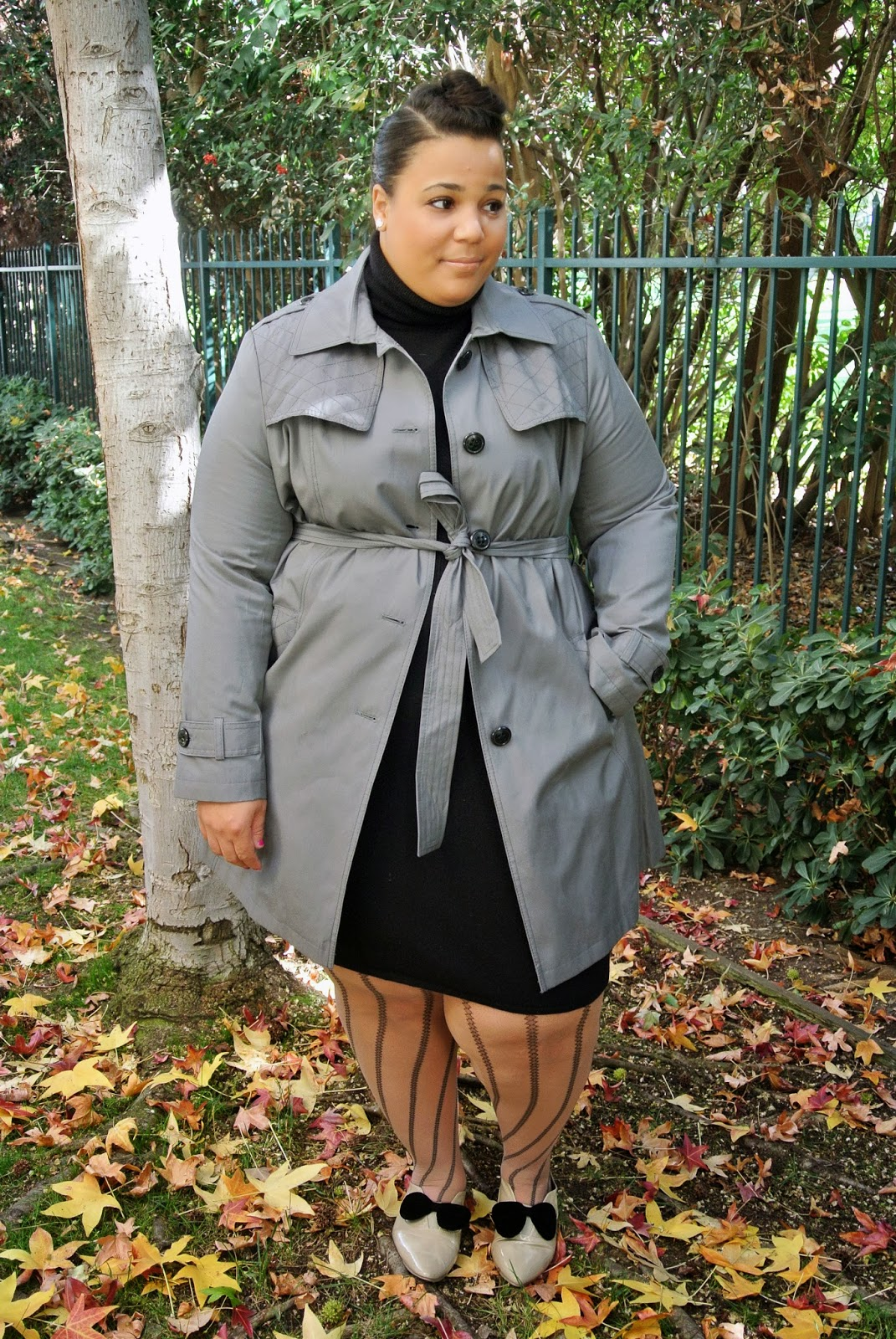 Plus Size blog, plus size coats, DKNY