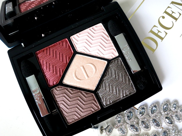 Dior Holiday 2015 State Of Gold Collection 5 Couleurs Eyeshadow Palette Blazing Gold