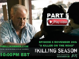 VIDEO SERIAL KILLERS: A&E  ' Killing Season' Sarasota PI Bill Warner