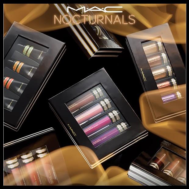 Color y mucho brillo en la colección de Mini Kits Nocturnals de MAC