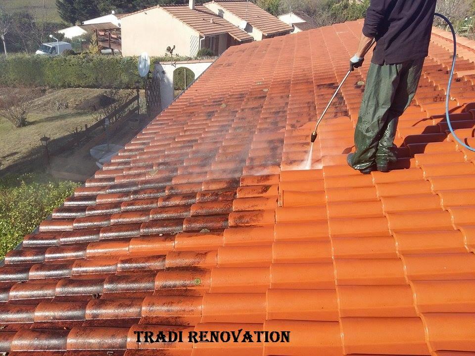 tradi renovation nettoyage de la toiture. Black Bedroom Furniture Sets. Home Design Ideas