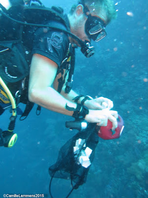 PADI Specialty Instructor training for May 2015 in Moalboal completed
