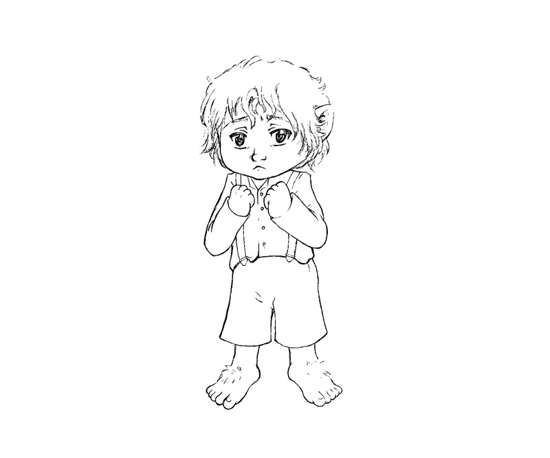 hobbit character coloring pages - photo#25