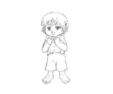 #5 Hobbit Coloring Page