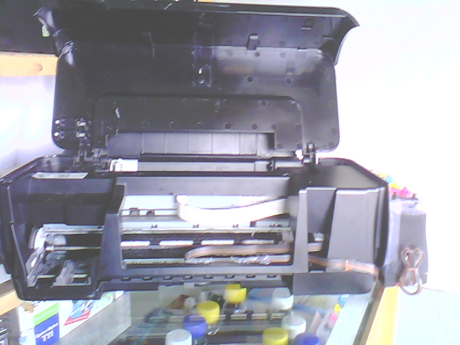 Printer Bekas Canon Ip1880 Service Laptop Servis Bergaransi Pg 40 Kondisi 90 Ok Sudah Terpasng Infus Tinta Penuh Terpasang Tabung Pembuang Catrit Hitam Pg40