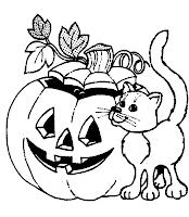Riscos e moldes para o halloween