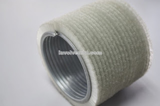 nylon spirally curved strip brush