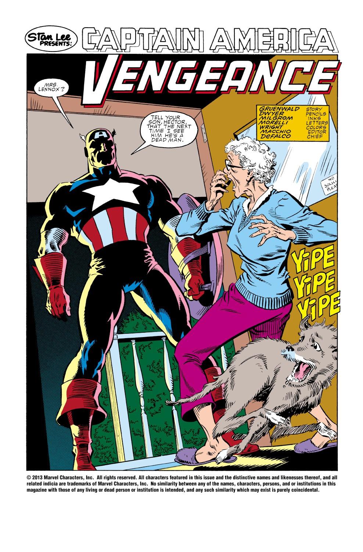 Captain America (1968) Issue #347 #277 - English 3