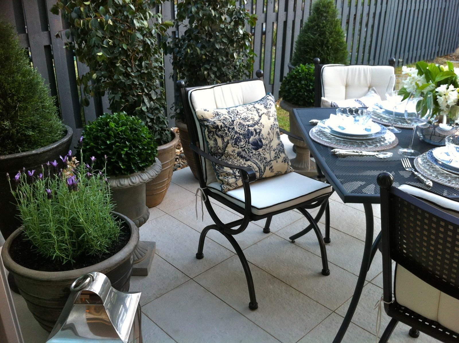 Finlay and Smith  Romeo  Chairs. My Masters Outdoor Room Makeover   The House that A M Built