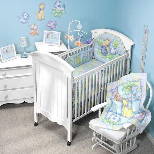 Dise o habitaciones para bebes for Opciones para decorar un cuarto