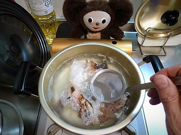 鯛汁そうめんの作り方(2)